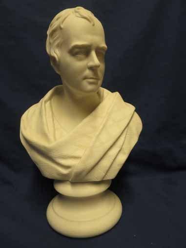 Parian bust of Robert B.