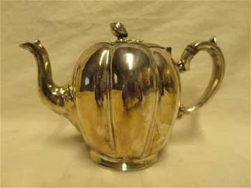 James Dixson & Sons Sheffield Silverplate tea pot with