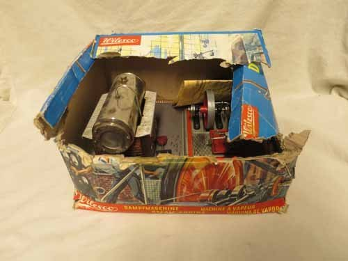 Wilesco German Steam Engine (top of box is no longer