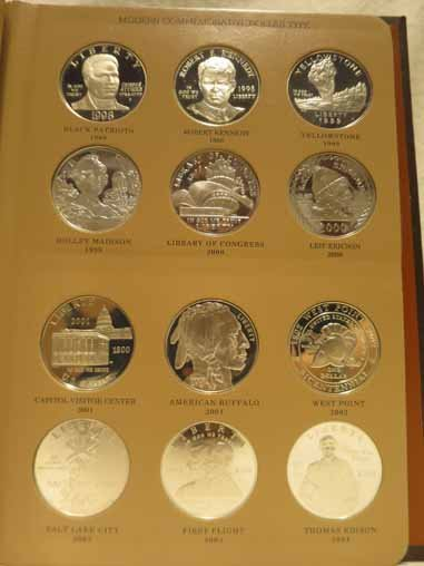 Complete Set of US Commemorative Silver Dollars - 4