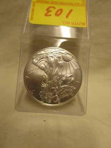 2009 Silver Eagle - BU