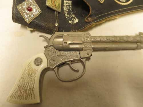 The Lone Ranger Pistol Holster with Pony Boy Toy Gun - 3