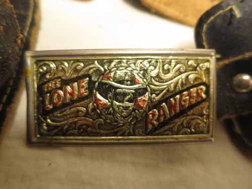 The Lone Ranger Pistol Holster with Pony Boy Toy Gun - 8