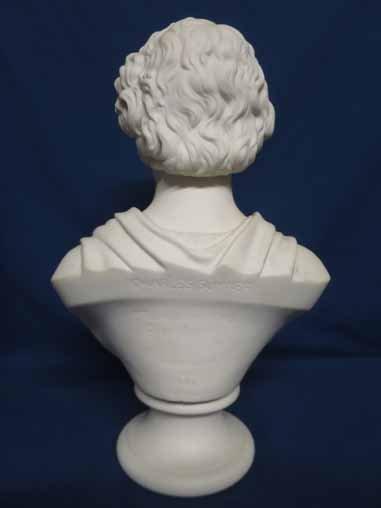 Parian bust of Charles Sumner. - 3