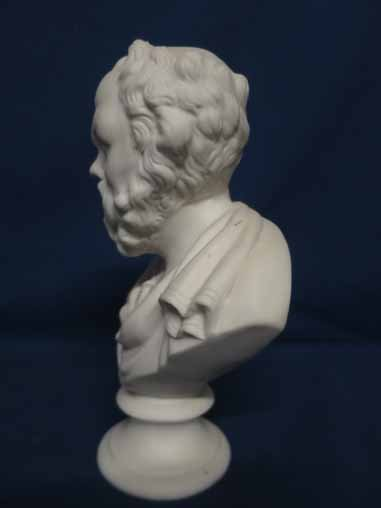 Parian bust of Socrates. - 2