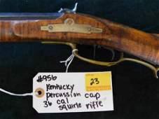 Kentucky Percussion Cap 36 Cal Rifle