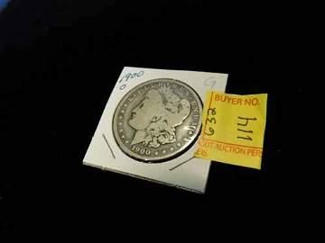 1900O Morgan Dollar Coin G