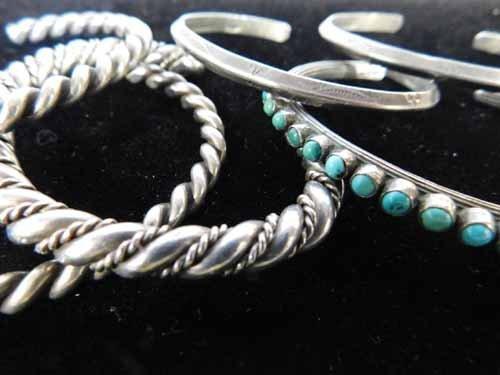 Sterling Silver Bracelets - 2