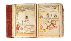 An Indian erotic manuscript, 19th century or earlier,
