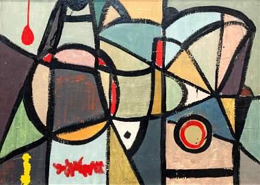 Jilali Gharbaoui, Moroccan 1930-1971- Abstract