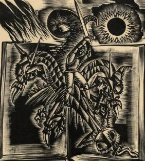George Buday,  Hungarian 1907-1990-   ''St. George and