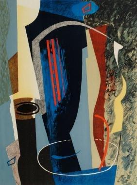 John Piper CH, British 1903-1992-  ''Abstract