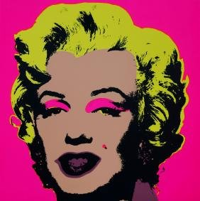 After Andy Warhol,  American 1928-1987-   ''Marilyn'';
