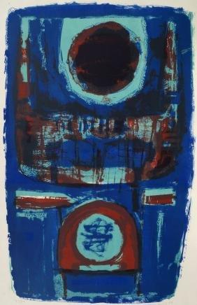 Henry Cliffe,  British 1919-1983-  ''Evening Raga''