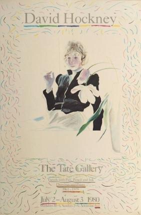 David Hockney OM CH RA, British b.1937-  ''David