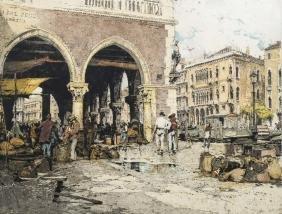 Luigi Kasimir, Austrian 1881-1962-   ''Venice, Grand