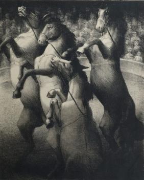 Francis Howard Spear,  British 1902-1979-   ''Circus