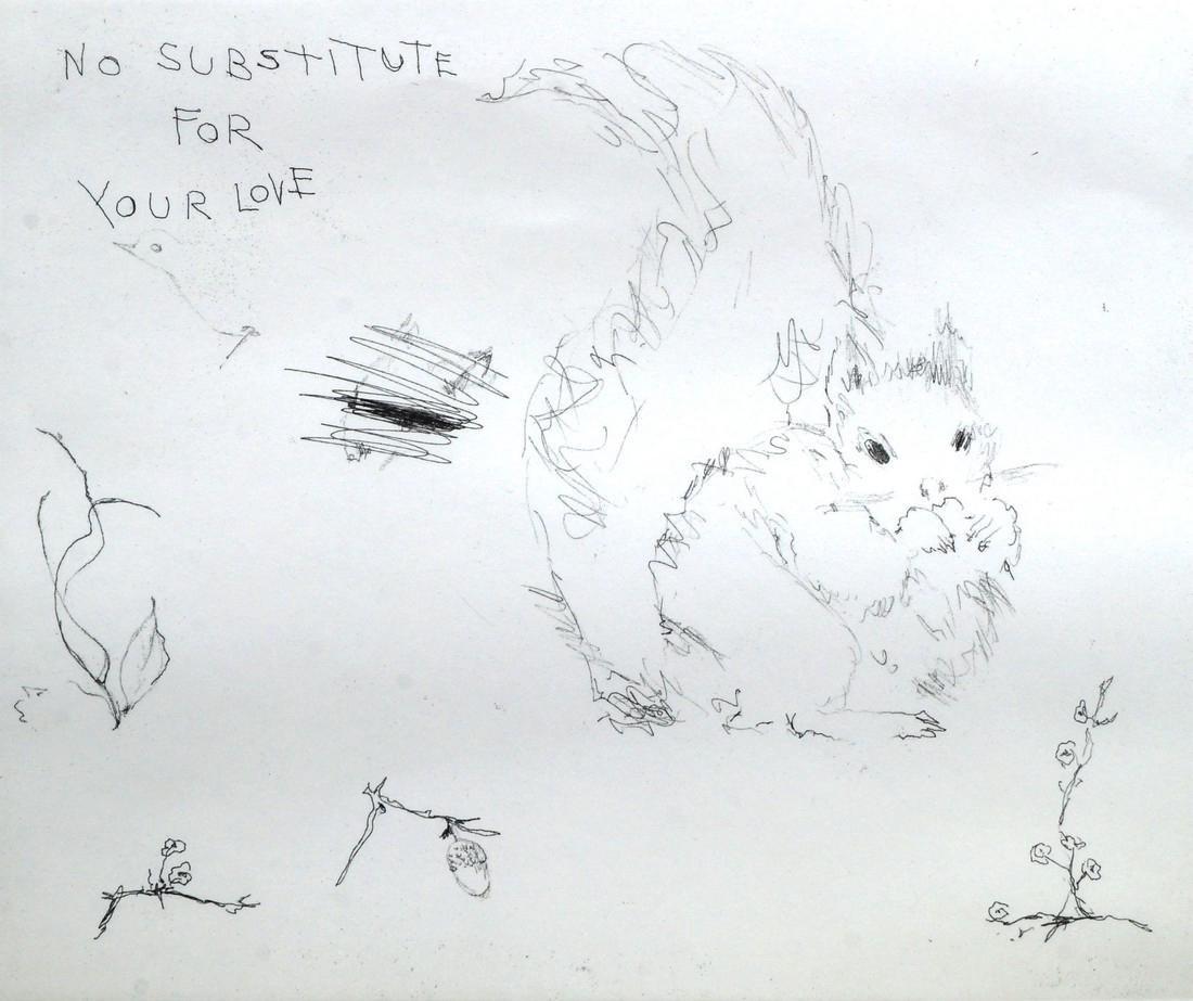 Tracey Emin CBE RA,  British b.1963-   ''No Substitute