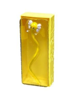KAWS, American b. 1974-  ''Bendy (Yellow)'' 2004;