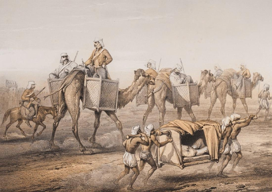 A rare copy of ''The Campaign in India 1857-58'' George