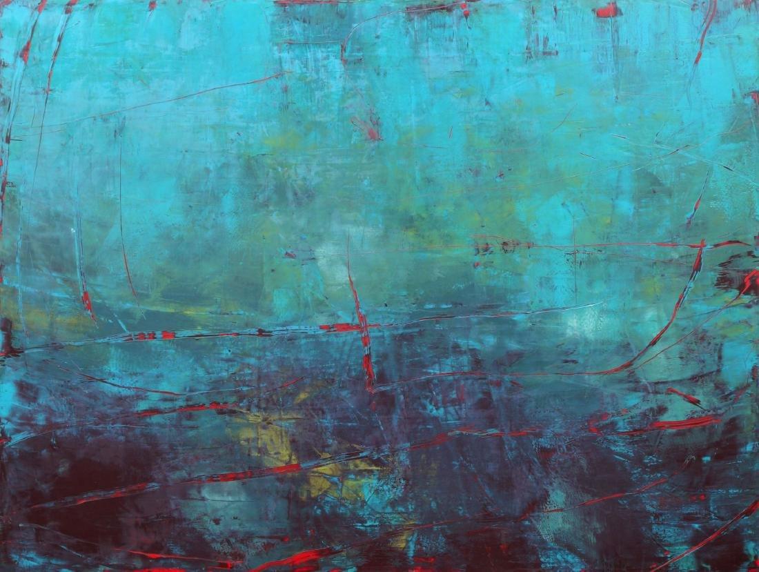 Ahmet Oran, Turkish b. 1957- Untitled, 2007; oil and