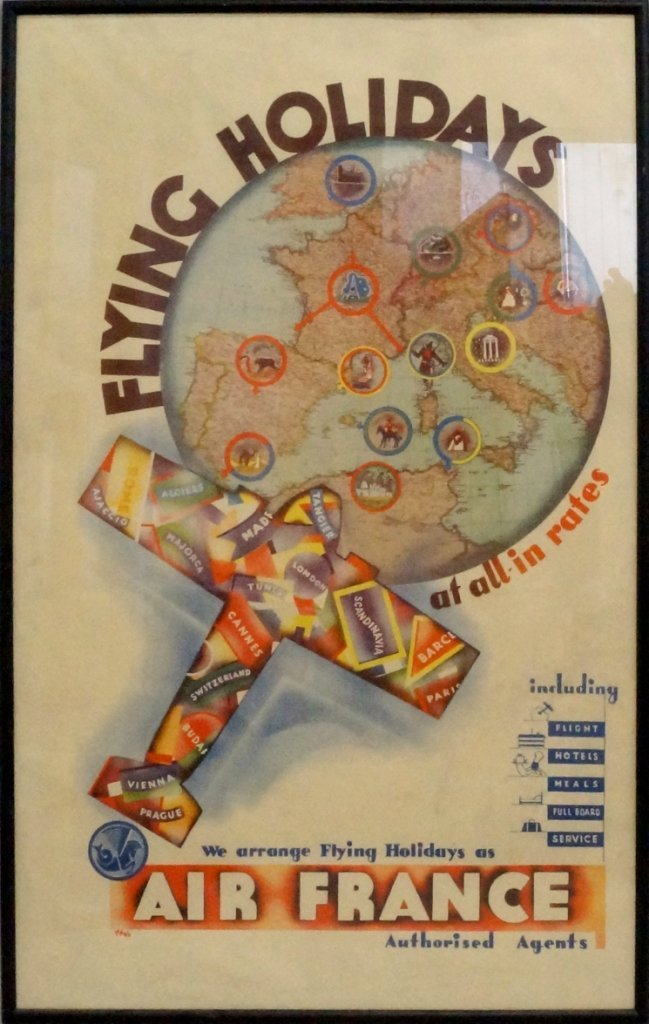Holz, early/mid 20th century- Flying Holidays (Air