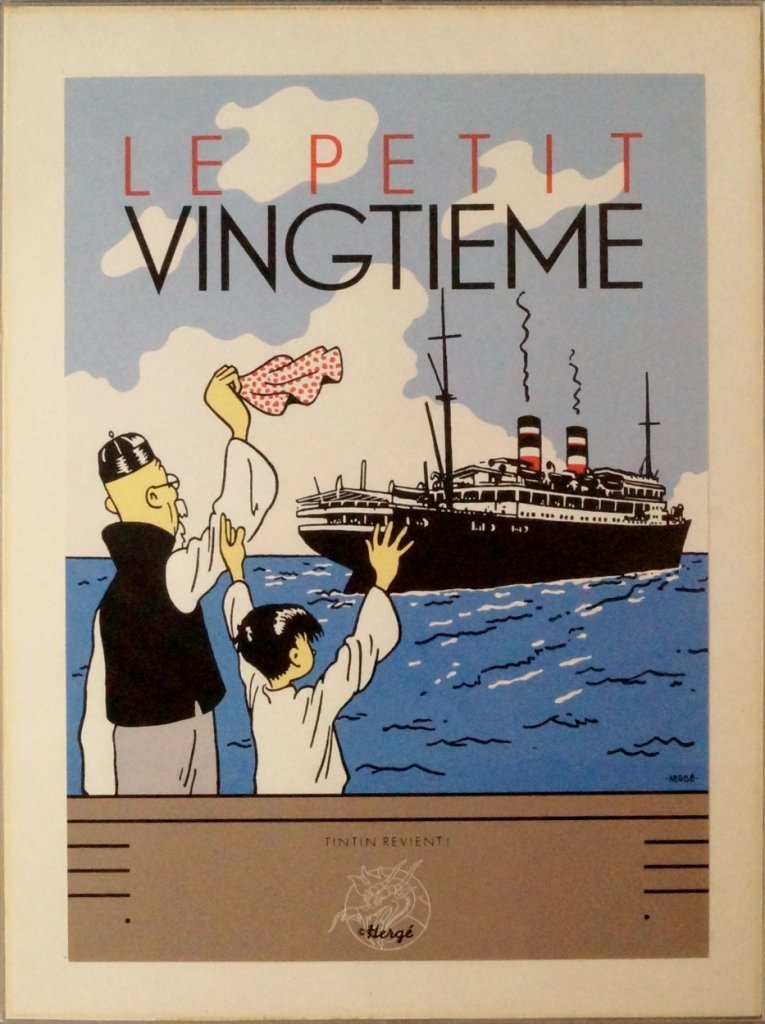 After Georges Prosper Remi [Hergé], Belgian 1907-1983-