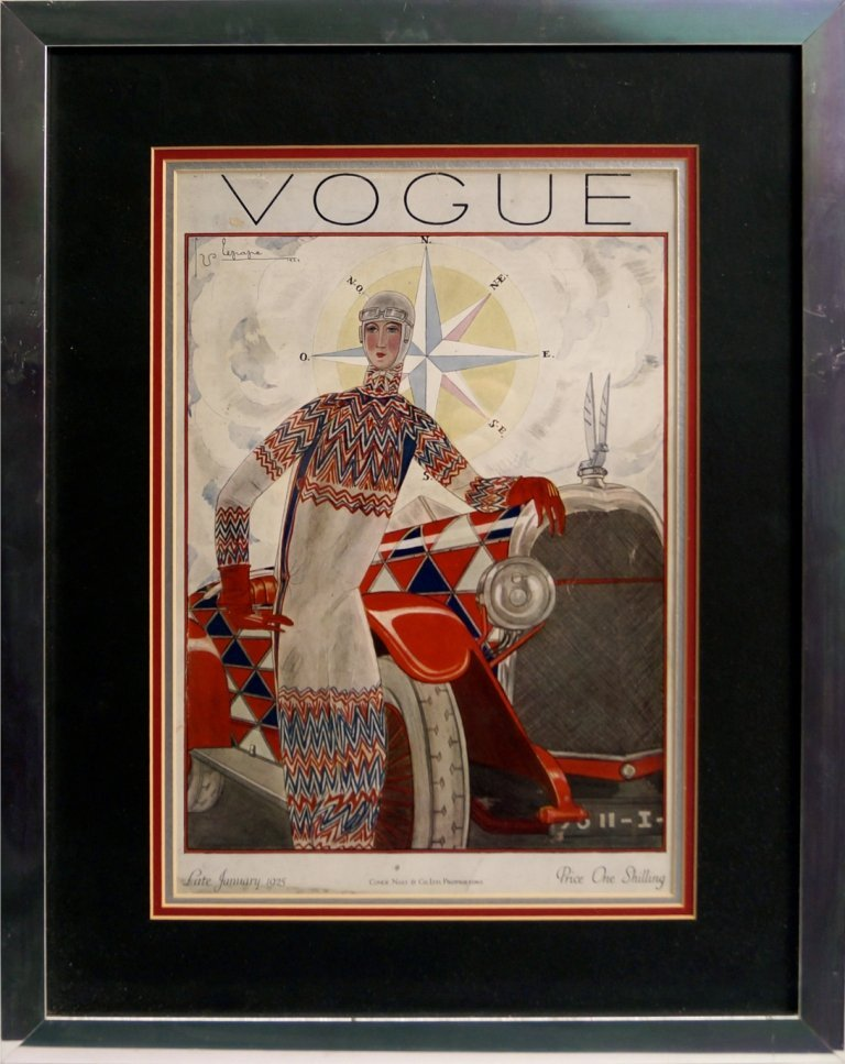Publ. Conde Nast & Co Ltd, London, Publ- Vogue Covers;