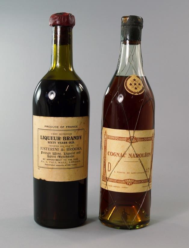 A bottle of Napoleon Cognac, E. Piercel de Saint