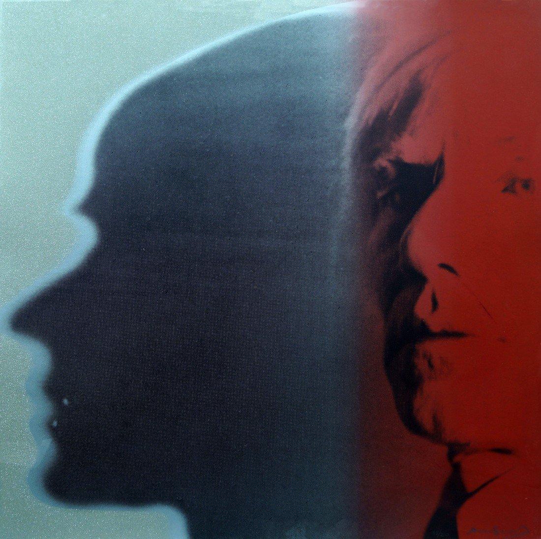 Andy Warhol, American 1928-1987- ''The Shadow'', (F&S