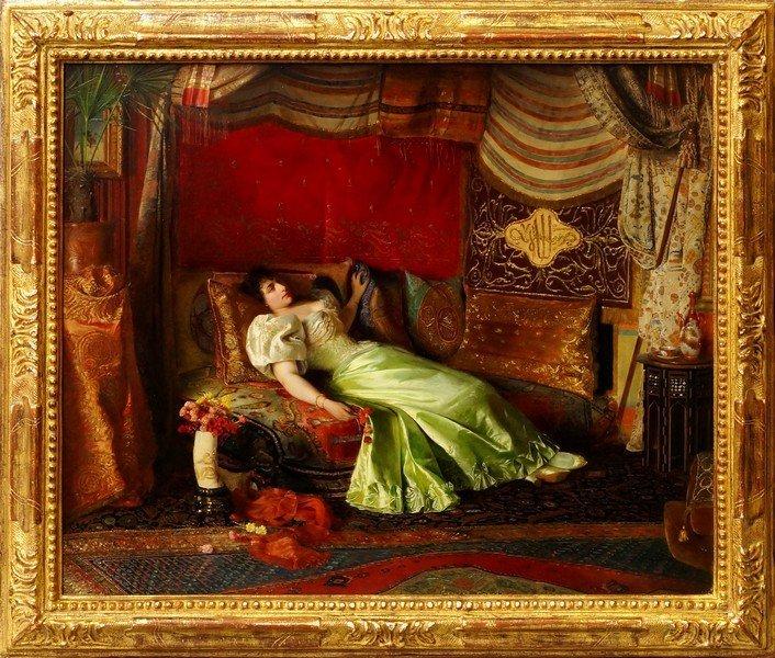 Georges Croegaert, Belgian 1848-1923- ''Dreams Of The