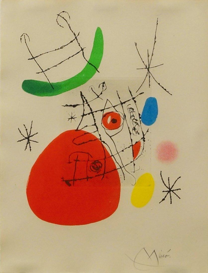 Joan Miró, Spanish 1893-1983- ''El Inocente'',