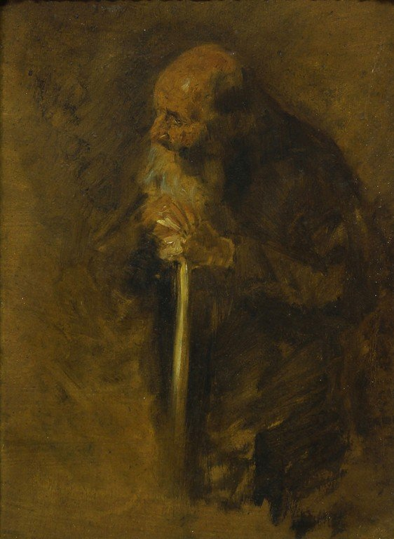 John Singer Sargent, American 1856-1925- Portrait of an