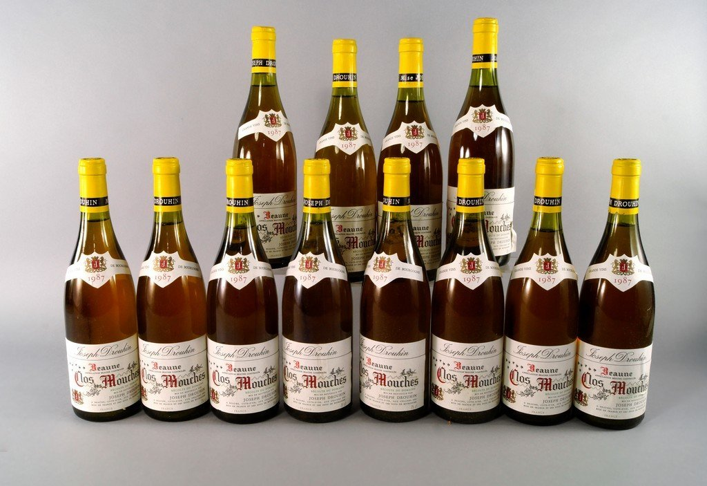 A case of Chateau Clos Mouches 1987, Joseph Drouhin, in