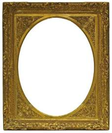 An English Carved, Gilded and Pierced Frame, 18th
