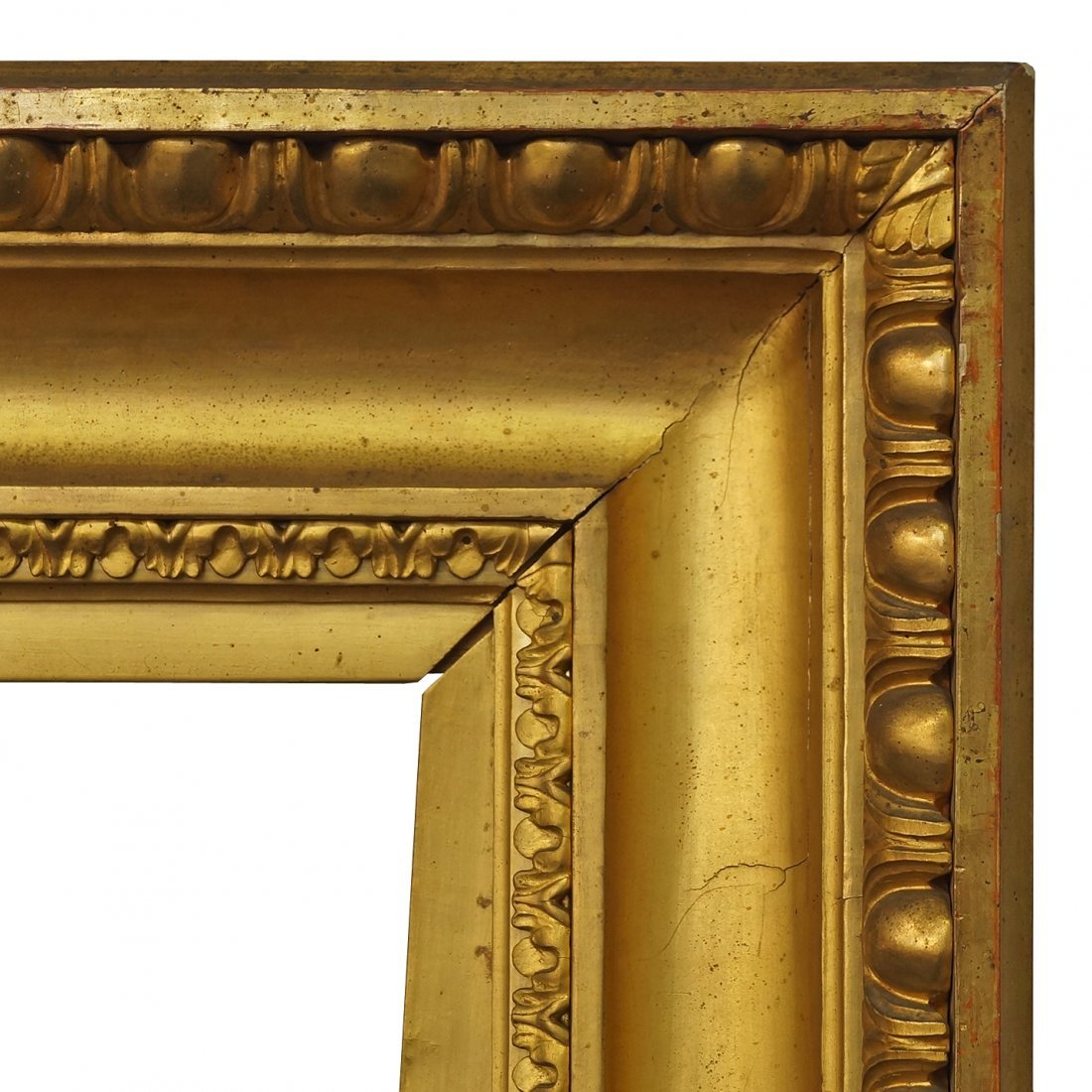 A French Gilded Neoclassical Style Frame, early-mid