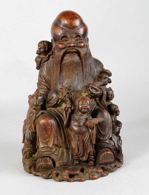 The following three carvings are depictions of Shoulao