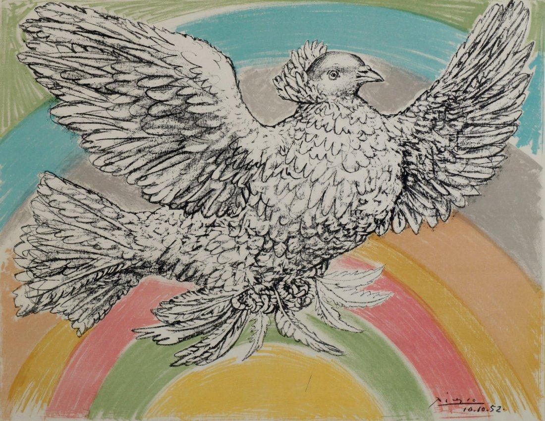 Pablo Picasso, Spanish 1881-1973-  ''Colombe volant (ÌÊ