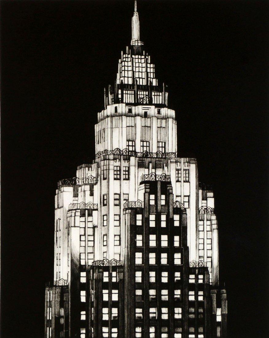 Richard John Haas,  American b.1936-   ''Cities Service
