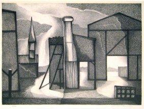 Clinton Adams (born 1918) Facade, 1949