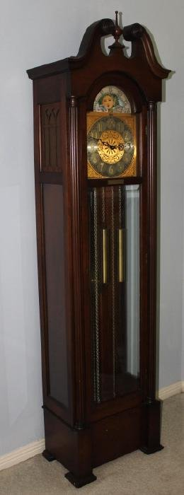 Vintage Grandfather Clock, By Colonial