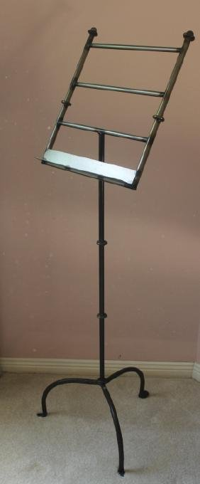 Welded Metal Sheet Music Stand