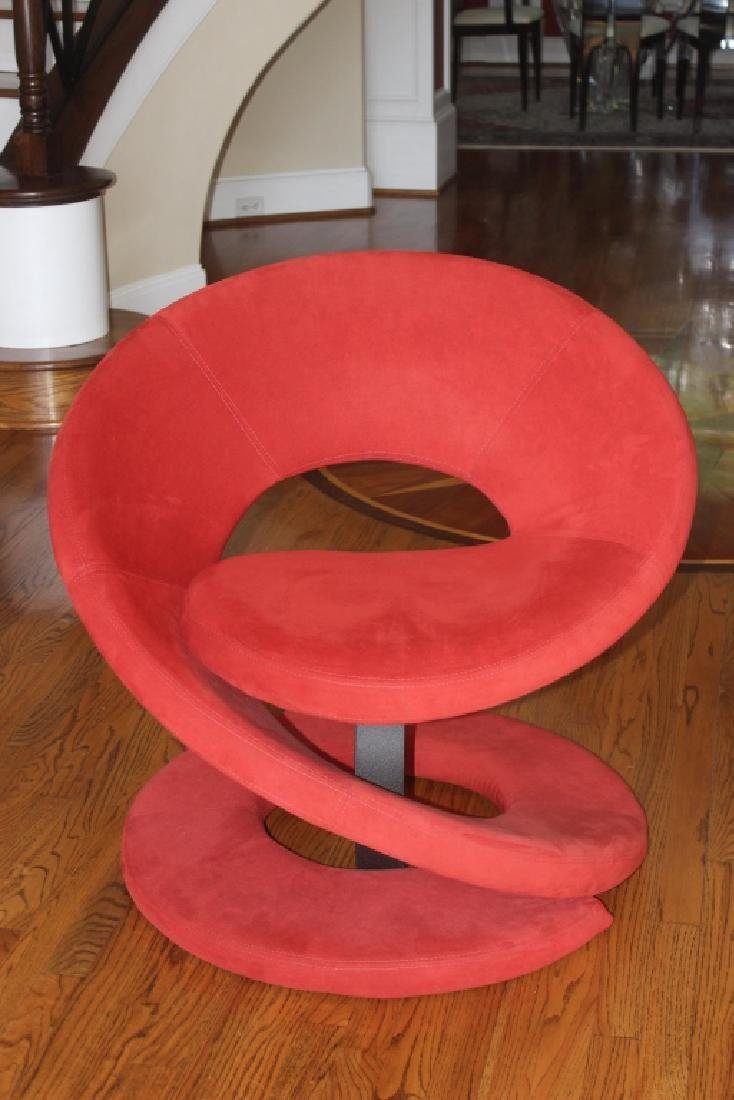 Red Cantoni chair. Excellent condition.