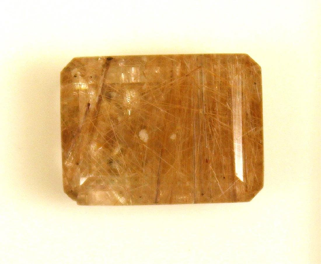 11.99 CT Rutilated Brazilian Quartz Gemstone