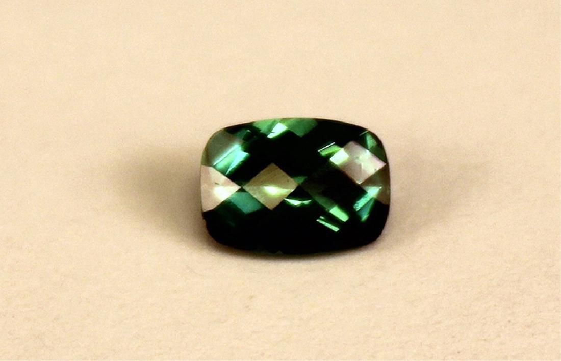 .70 CT MIN 7x5MM Indicolite Tourmaline Gemstone