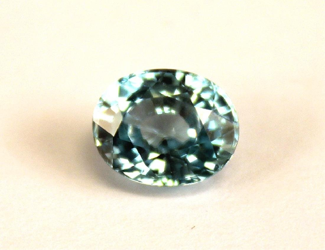 4.82 CT MIN 10x8MM Cambodian Blue Zircon Gemstone