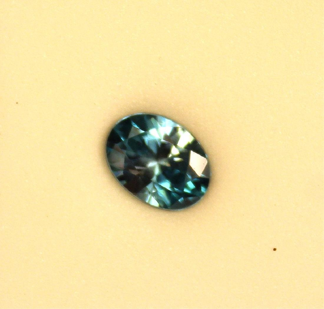 2.53 CT Oval Cambodian Blue Zircon Gemstone