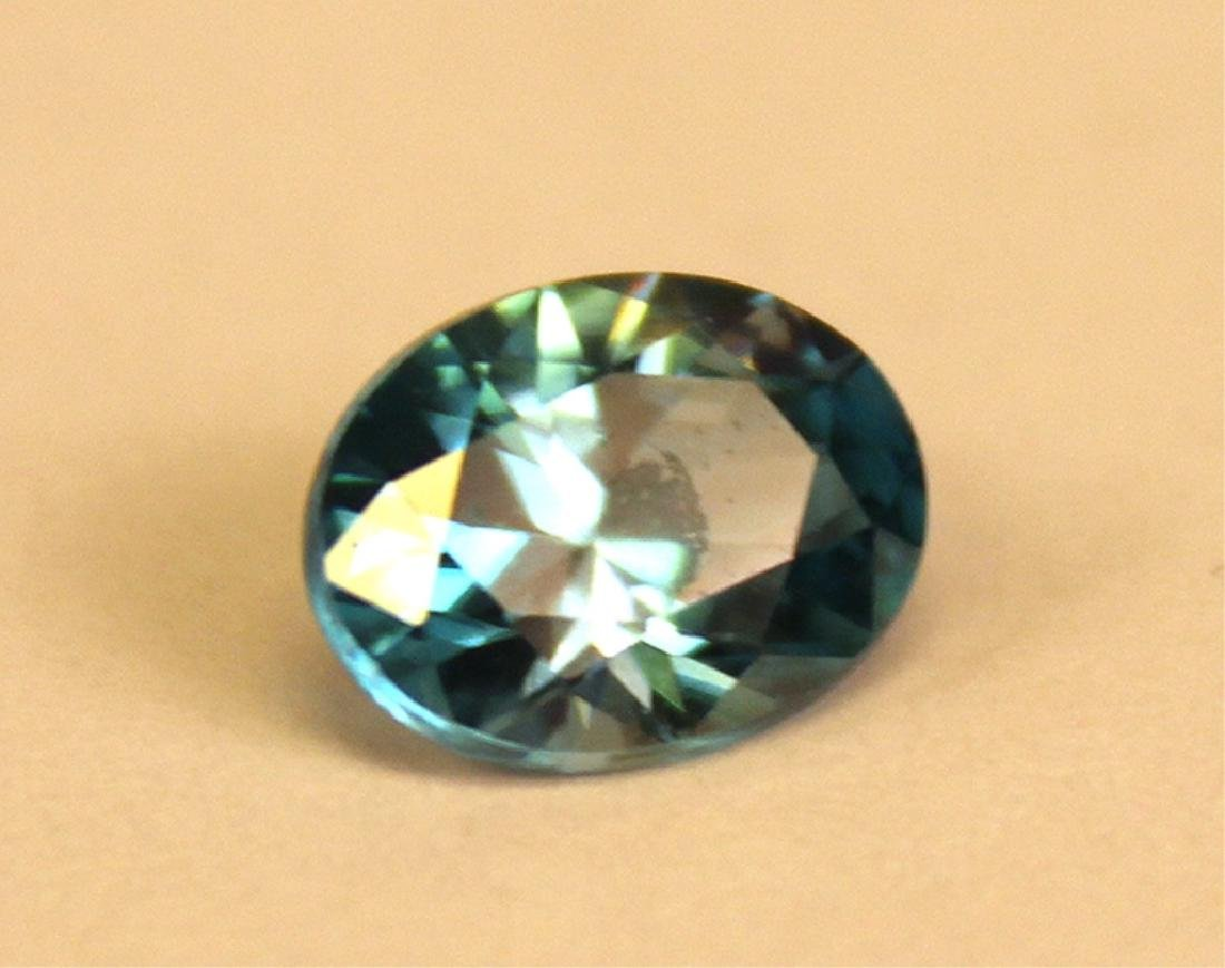 2.53 CT Oval Cambodian Blue Zircon Gemstone - 2
