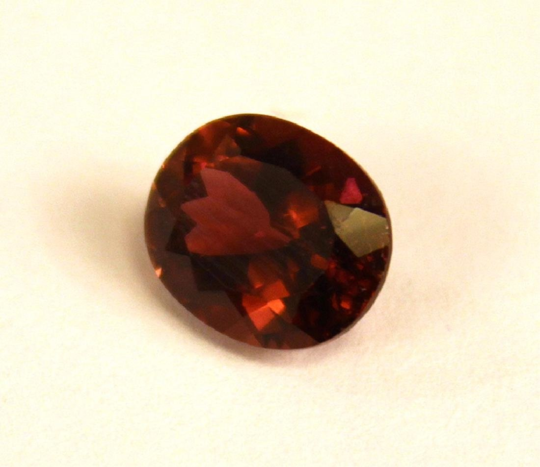4.01 CT Oval Rubellite Tourmaline Gemstone - 2