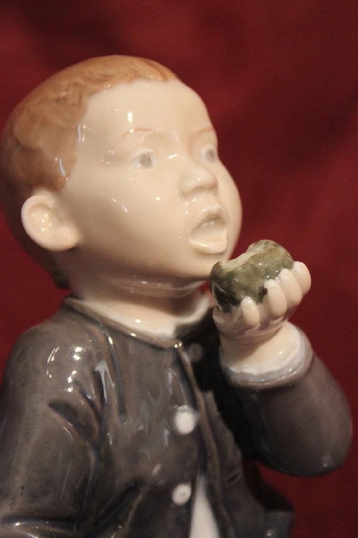Royal Copenhagen Denmark Porcelain Little Boy - 2